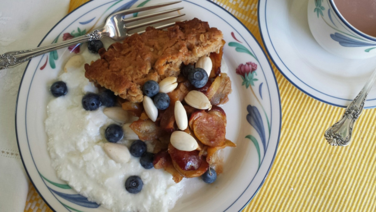 Jujube Crisp breakfast