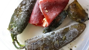 Frozen Roasted Chiles